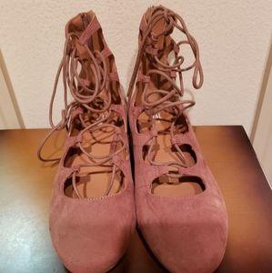 H&M lace up shoes